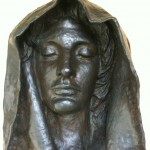 Adams memorial head-Saint Gaudens National Historic Site- Cornish NH